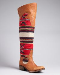 Freebird by Steven - Freebird Over The Knee Boots Caballero - Lyst