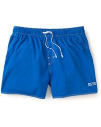 Hugo Boss Boss Lobster Swim Trunks - Lyst
