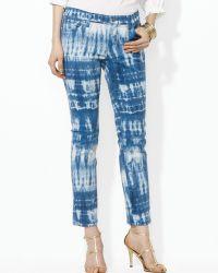Ralph Lauren Modern Straight Ankle Jeans - Lyst