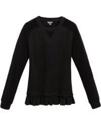 Mulberry Velvet Sweatshirt black - Lyst