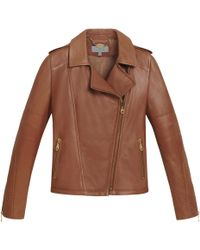 Mulberry Brown Soft Biker - Lyst