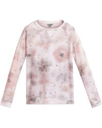 Mulberry White Printed Sweater - Lyst