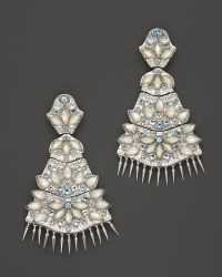 Paul Morelli | Applique Quad Dangle Earrings With Mother-of-pearl And Blue Topaz | Lyst
