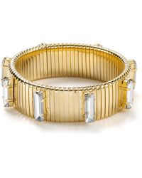 R.j. Graziano Crystal Accent Stretch Bracelet - Lyst