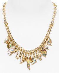 Rose Pierre - Sunset Tides Bezeled Abalone Shard Necklace 16 - Lyst