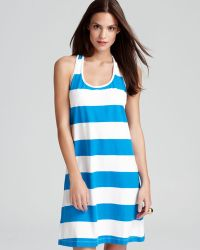 27720240359 Tommy Bahama - Big Stripe Short Tank Swimsuit Cover Up Dress - Lyst