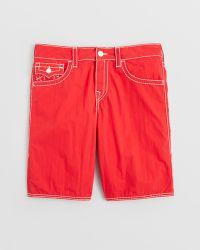 True Religion - Big T Board Shorts - Lyst