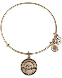 ALEX AND ANI - Claddagh Bangle - Lyst