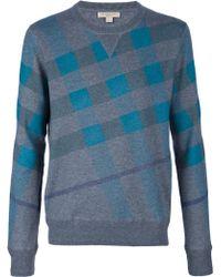 Burberry Brit - Long Sleeve Sweater - Lyst