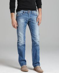 Diesel Jeans - Safado Straight Fit In Sky - Lyst