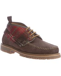 DSquared² - Checked Detail Boot - Lyst