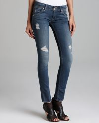 Hudson Jeans Collin Skinny in Vintage Florence - Lyst