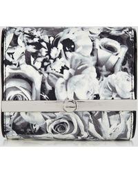 Karen Millen Clutch Dot Floral Print - Lyst