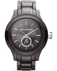 Karl Lagerfeld Karl Chain Chronograph Watch 446mm - Lyst