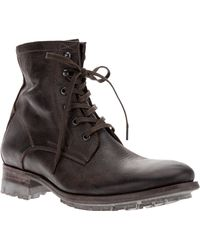 NDC - Lace Up Boots - Lyst