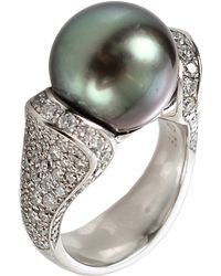 Tamara Comolli - Solitaire Tahitian Pearl Ring - Lyst