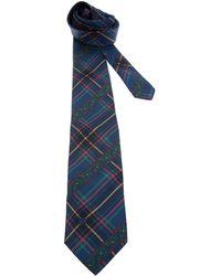 Valentino Vintage Tartan and Paisley Tie - Lyst