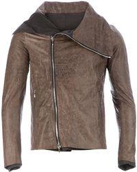 Incarnation - Leather Biker Jacket - Lyst