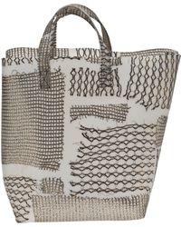 Luisa Cevese Riedizioni - Square Basket Bag - Lyst