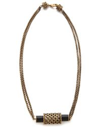 A Peace Treaty - Rebianae Onyx Necklace - Lyst