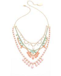 Adia Kibur - Layered Stone Necklace - Lyst