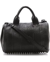 Alexander Wang Rocco Duffel with Black Hardware - Lyst