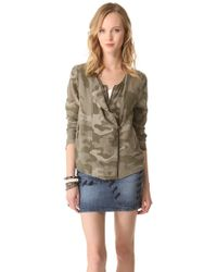 April, May - Cami Camouflage Jacket - Lyst