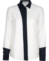 Avhash by Anne Valérie Hash - Griffin Twotone Blouse - Lyst