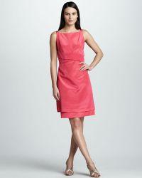 Bigio Collection - Womens Foldfront Dress - Lyst