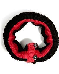 Bouchra Jarrar - Wool Circle Scarf in Black - Lyst