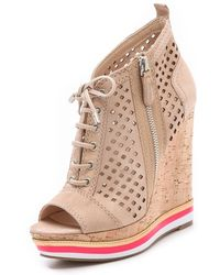Boutique 9 - Gogetter Wedge Booties - Lyst