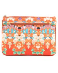 Camilla - Endless Summer Small Zip Clutch - Lyst