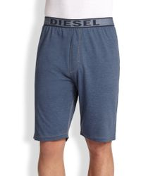 Diesel Martin Lounge Shorts blue - Lyst