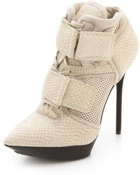 DKNY Pulse High Top Platform Booties - Lyst