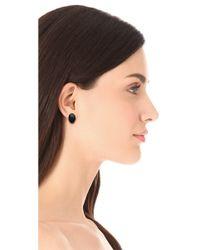 Elizabeth and James - Berlin Oval Cabochon Stud Earrings - Lyst