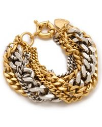 Giles & Brother - Large Multi Chain Bracelet - Lyst