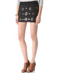 Gryphon - Reflection Miniskirt - Lyst
