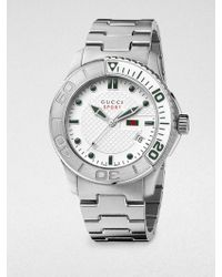 Gucci G Timeless Collection Stainless Steel Watch - Lyst