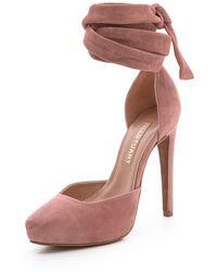 Jill Stuart - Geraldine Suede Court Shoes - Lyst