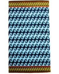 Jonathan Adler Aegean Waves Beach Towel - Lyst