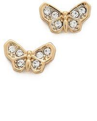 Juicy Couture Earrings   Silver & Gold, Stud Earrings & Drops   Lyst