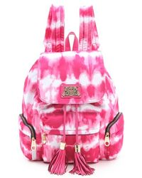 American Apparel Nylon Backpack In Pink Lyst