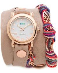 La Mer Collections -  Friendship Bracelet Watch - Lyst