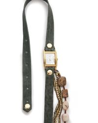 La Mer Collections - Jasper Stones Wrap Watch - Lyst