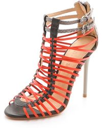 L.A.M.B. - Payton Strappy High Heel Sandals - Lyst