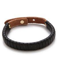 Linea Pelle | Jesse Leather Bracelet | Lyst