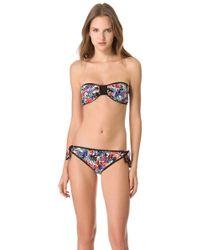 M Missoni - Bandeau Bikini - Lyst