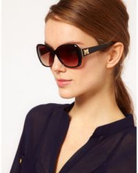 M Missoni - M By Missoni Sunglasses with Large Logo Detail - Lyst