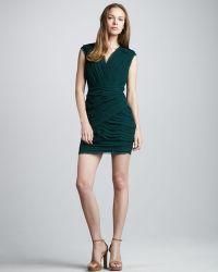 Madison Marcus - Pintuck panel Dress - Lyst