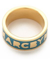 Marc By Marc Jacobs - Classic Marc Dreamy Logo Ring - Lyst